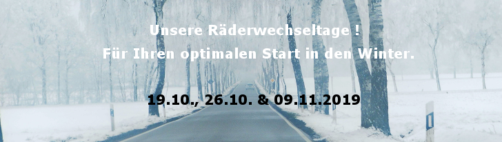 Radwechsel Winter 2019 Homepage